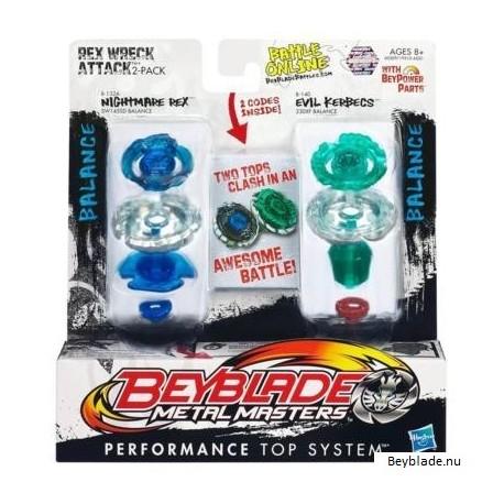 Beyblade Rex Wreck Attack
