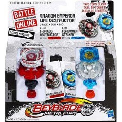 Beyblade Dragon Emperor Life Destructor