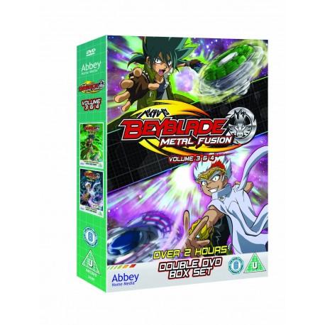 DVD Beyblade Metal Fusion Vol 3&4 [ENG]