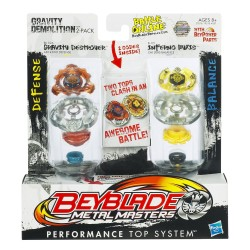 Beyblade Metal Masters Gravity Demolition