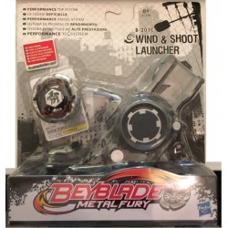 Beyblade Rock Zurafa + Wind & Shoot Launcher