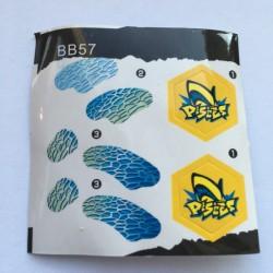 Extra klistermärken till beyblades