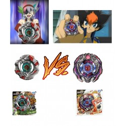 Beyblade Start Set Ifraid vs Begirados